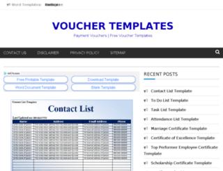 giftvouchertemplates.org screenshot