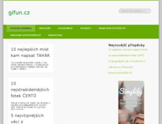 gifun.cz screenshot