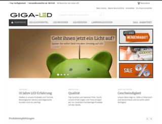giga-led.de screenshot