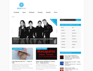 giga-music.de screenshot