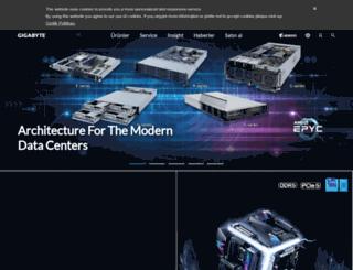 gigabyte.com.tr screenshot