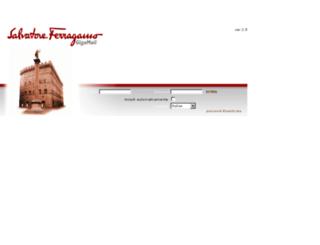 gigamail.ferragamo.com screenshot