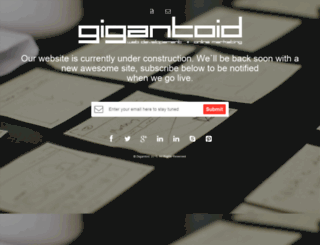 gigantoid.co.za screenshot
