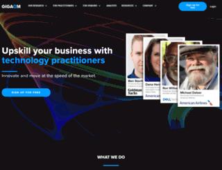 gigaom2.wordpress.com screenshot