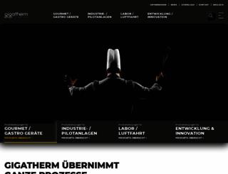 gigatherm.ch screenshot