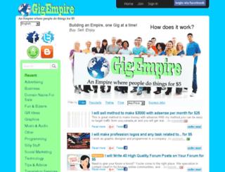 gigempire.com screenshot