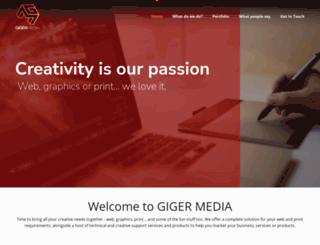 giger.co.uk screenshot