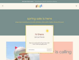 giggle.com screenshot
