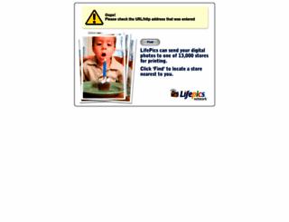 giggleprints.lifepics.com screenshot