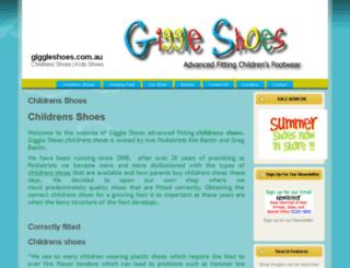 giggleshoes.com.au screenshot