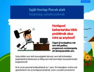 gigibeautyszalon.shp.hu screenshot