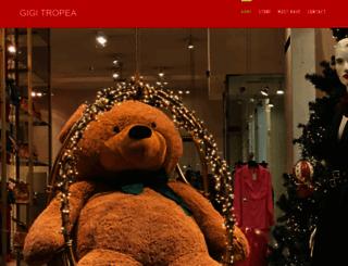 gigitropea.com screenshot