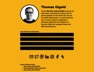 gigold.de screenshot