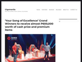 gigsmanila.com screenshot