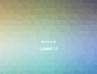 gigspot.co screenshot