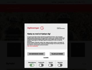gigtforeningen.dk screenshot