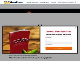 gihanperera.com screenshot