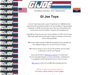 gijoeactionfigures.net screenshot
