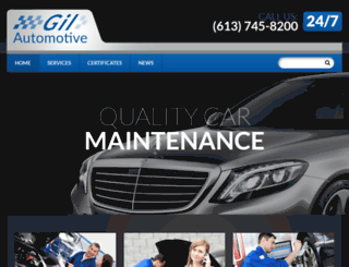 gilautomotive.ca screenshot