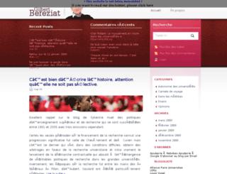 gilbertbereziat.fr screenshot