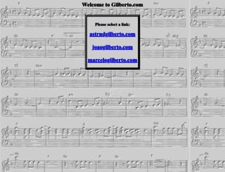 gilberto.com screenshot