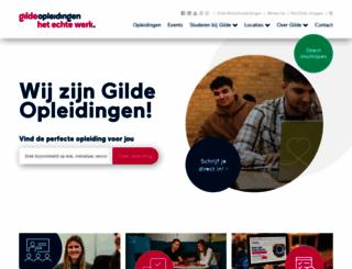 gildeopleidingen.nl screenshot