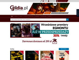 gildia.pl screenshot