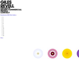 gilesrevell.com screenshot