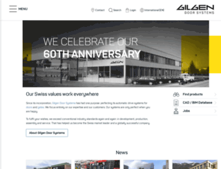 gilgendoorsystems.com screenshot
