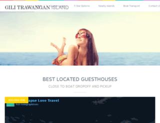 gilitrawanganbooking.agency screenshot