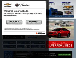 gillelandchevrolet.com screenshot