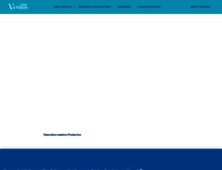 gillettevenus.es screenshot