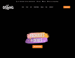 gilligans.com.au screenshot