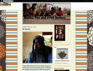 gillispiefam.blogspot.com screenshot