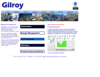 gilroys.com screenshot