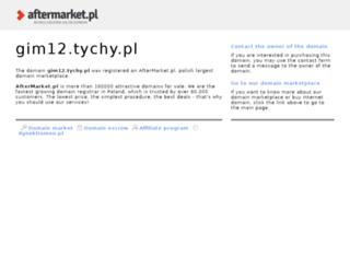 gim12.tychy.pl screenshot
