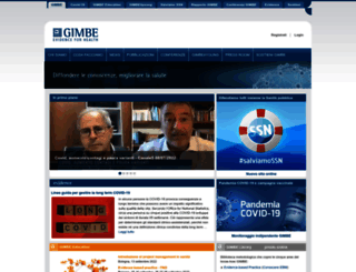 gimbe.org screenshot