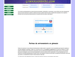 gimnasiototal.com screenshot