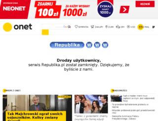 gimnazjum3grodzisk.republika.pl screenshot