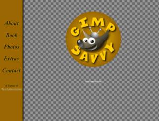gimp-savvy.com screenshot