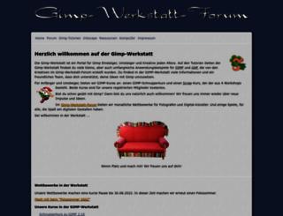 gimp-werkstatt.de screenshot