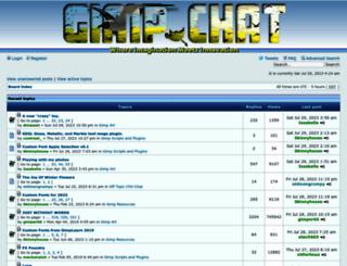 gimpchat.com screenshot