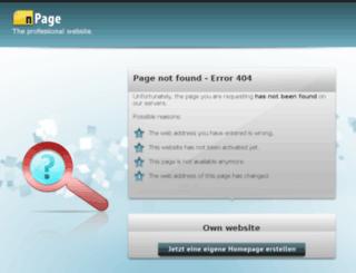 gimpdesig.npage.de screenshot