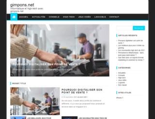 gimpons.net screenshot