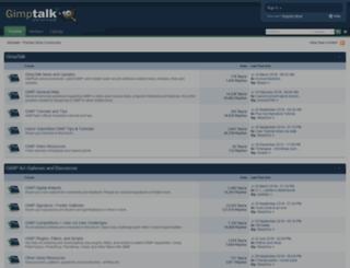 gimptalk.com screenshot