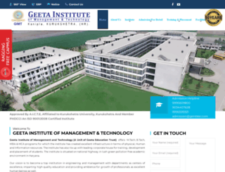 gimt.edu.in screenshot