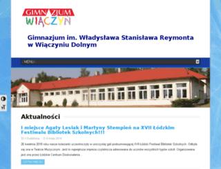 gimwiaczyn.szkoly.lodz.pl screenshot