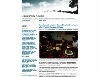 ginacarbone.wordpress.com screenshot