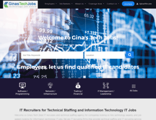 ginastechjobs.com screenshot