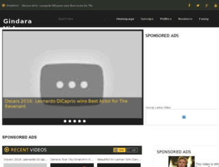 gindaravideo.com screenshot